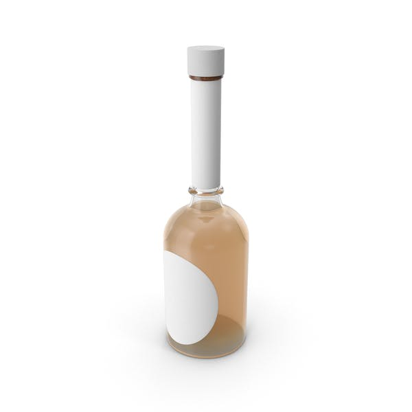 Мокап бутылки текилы