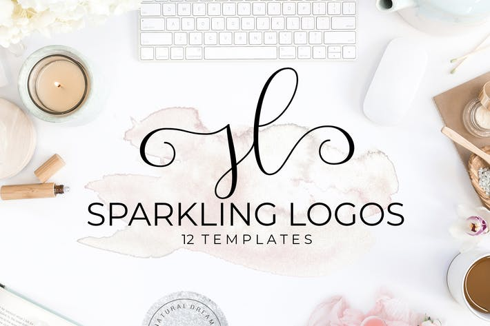 Thumbnail for Sparkling Logo Templates