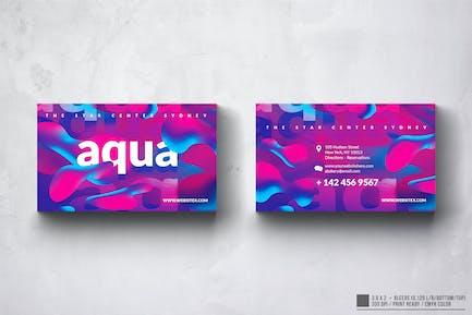 Aqua Club Design Carte de Visite