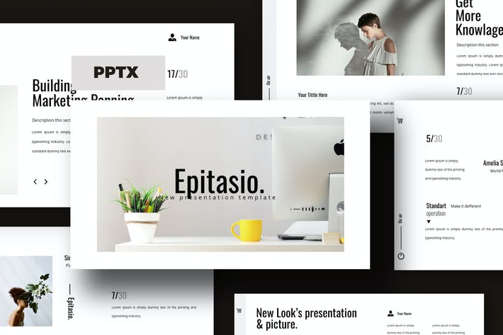 Thumbnail for EPITASIO - Clean Powerpoint Business Company