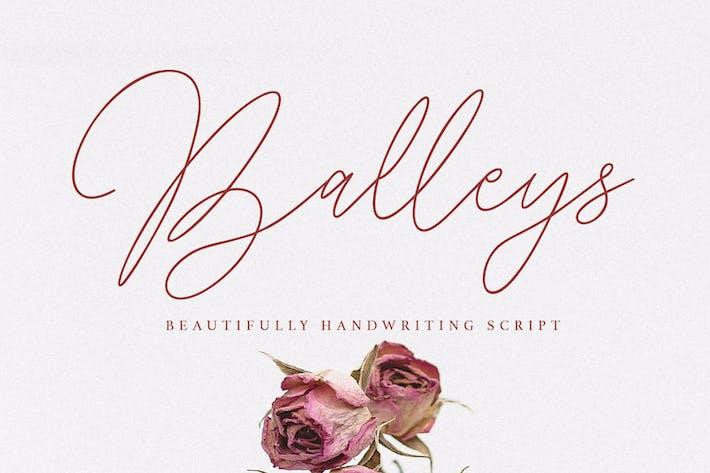 Thumbnail for Fuente de escritura a mano Balleys Beautiful