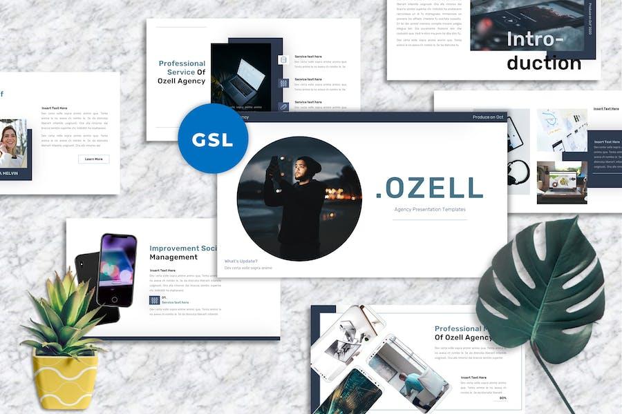 Ozell - Agency Googleslide Templates