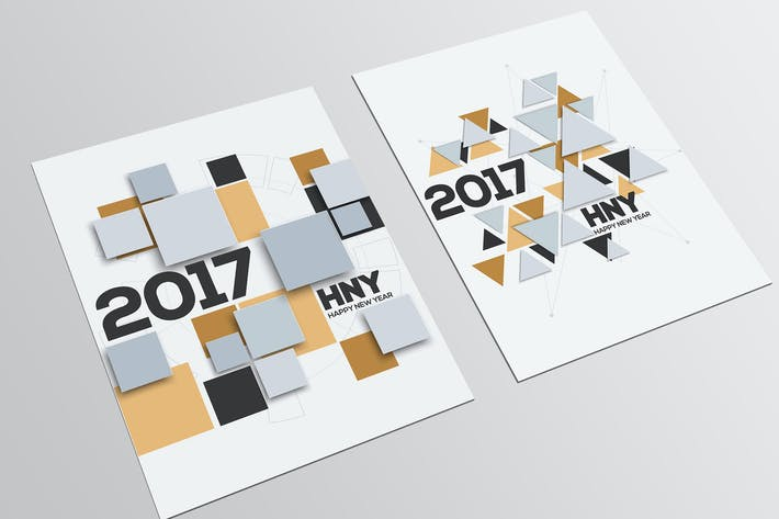 Thumbnail for Creative geometric design for your greetings card