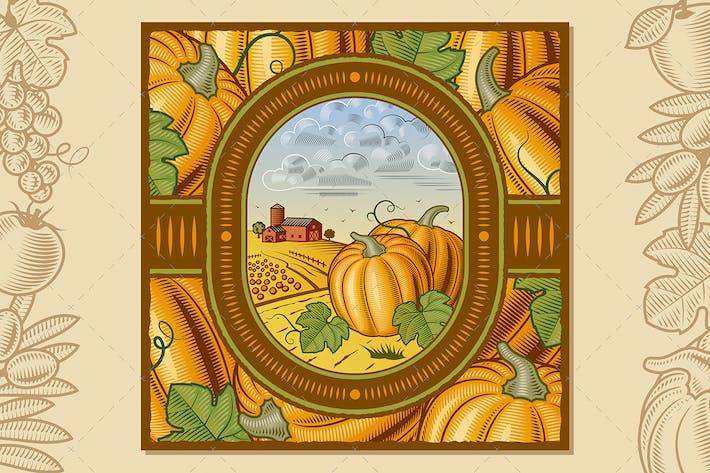 Thumbnail for Pumpkin Harvest Design
