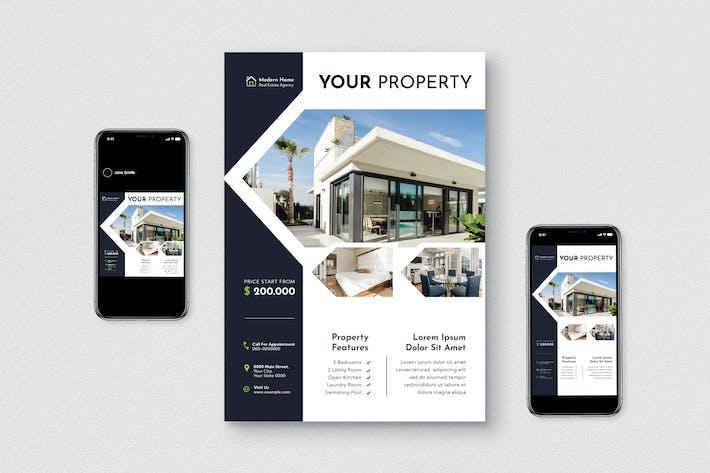 Thumbnail for Property Flyer Set