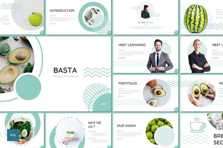 Thumbnail for Basta - Fruit Keynote Template