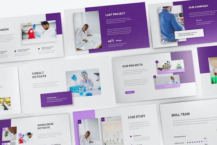 Thumbnail for Chemical Keynote Template