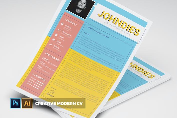 Thumbnail for Creative Modern | CV & Resume