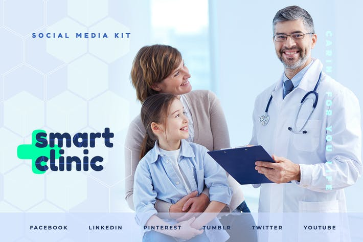 Cover Image For Medical Clinic – Social Media Kit