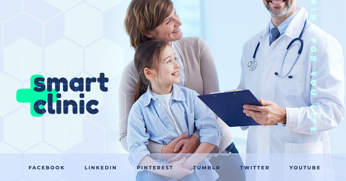 Download Medical Clinic – Social Media Kit by merkulove