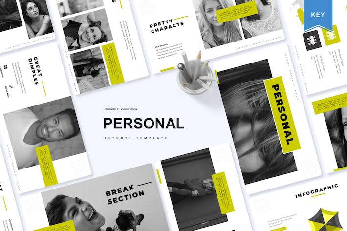 Thumbnail for Personal | Keynote Template