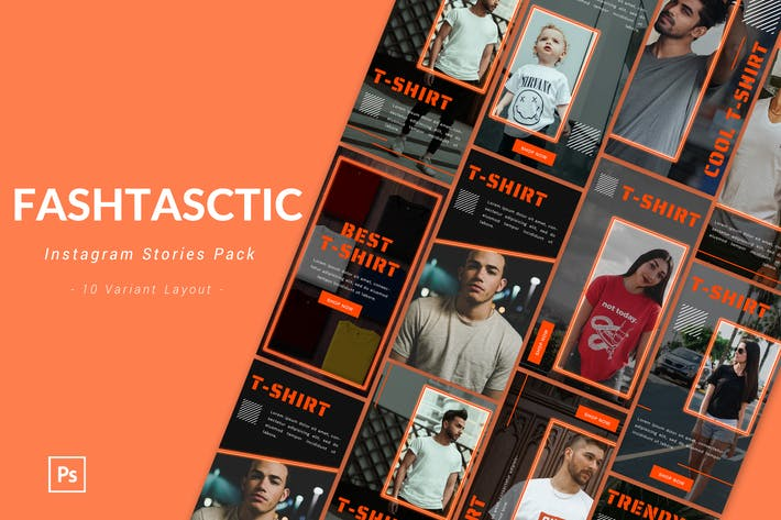 Thumbnail for Fashtastic - Instagram Story Pack