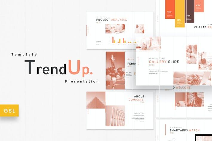 Thumbnail for TrendUp - Business Google Slides Template