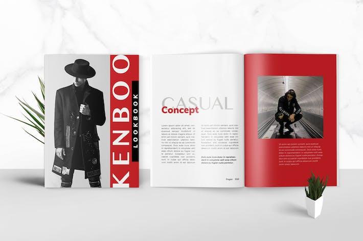 Thumbnail for Kenboo - Media Kit Template for Influencer