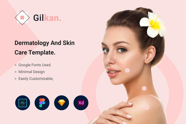 Thumbnail for Gilkan - Dermatology and Skin Care Template