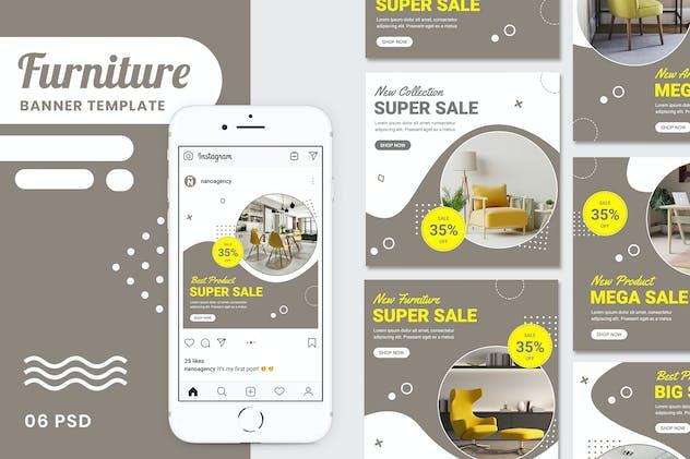 Furniture Banner Instagram Stories