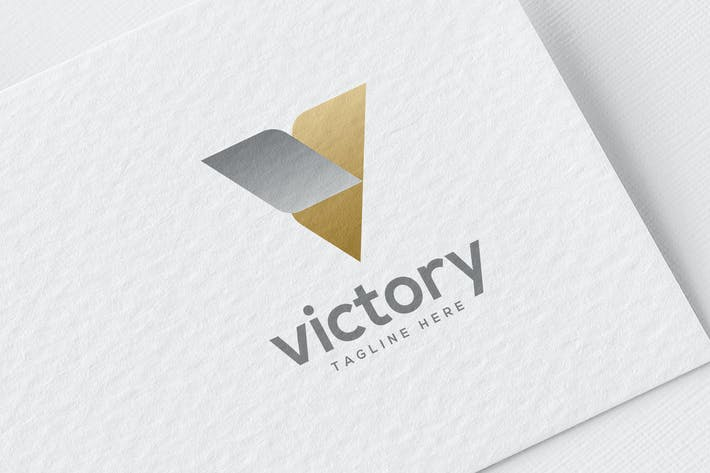 Thumbnail for Victory Logo Elegant Style