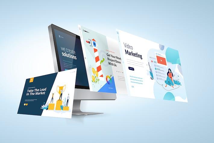 Thumbnail for Modèle de conception Web