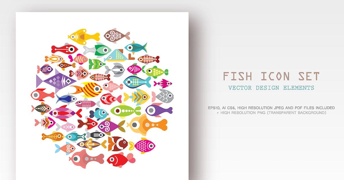 Download Fish icon set by danjazzia