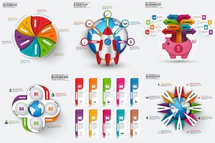 Marketing 3D Infographics