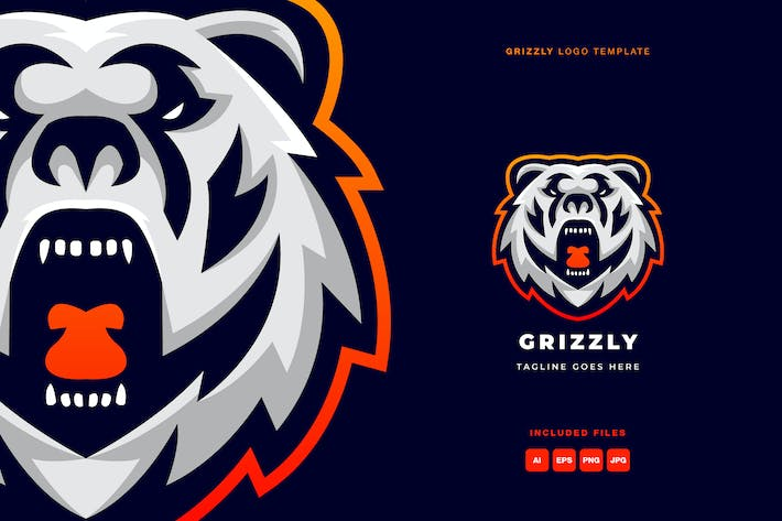Grizzly Logo Template