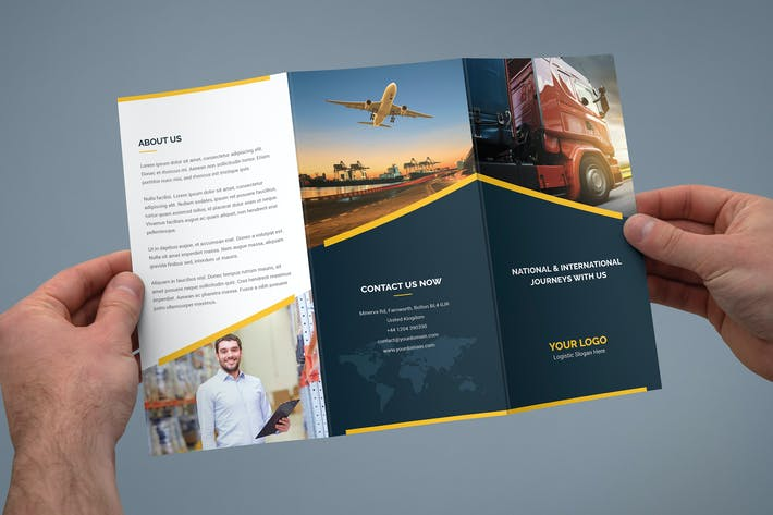 Thumbnail for Brochure – Logistic Tri-Fold