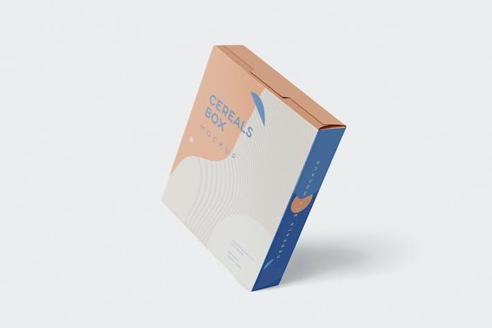 Thumbnail for Cereals Box Mockup