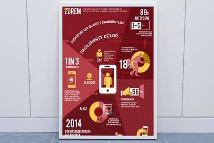 Telecom & Technology Infographics Template