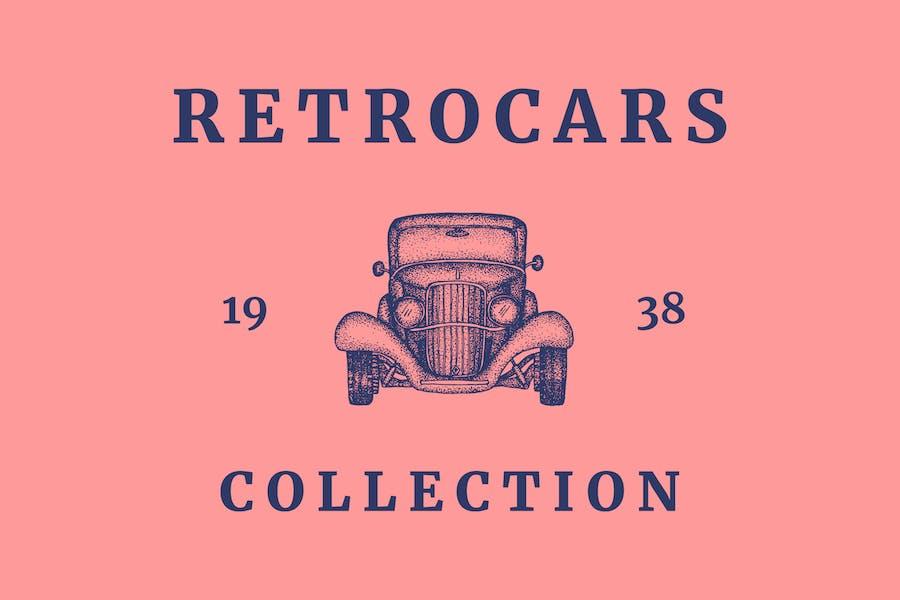 Retro Car Logo - Vintage