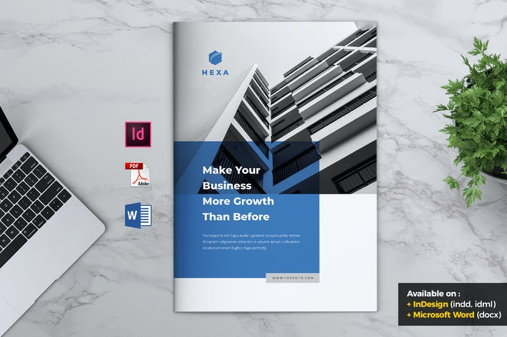 Thumbnail for HEXA Professional Company Profile Brochures