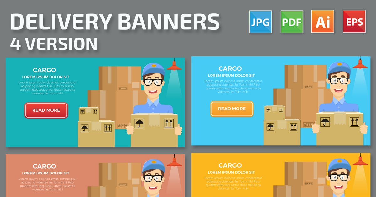 Download Delivery Banners Design by mamanamsai