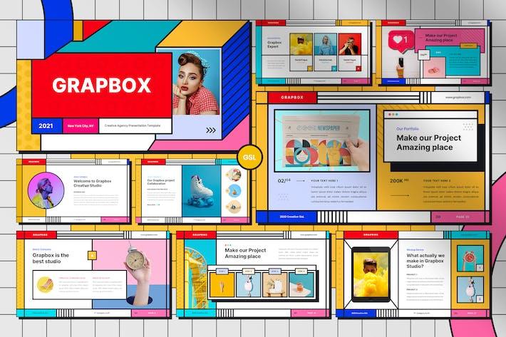 Thumbnail for Grapbox - Creative Google Slides Template
