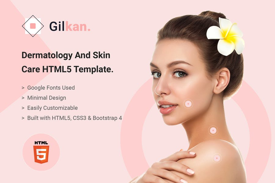 Gilkan - Dermatology and Skin Care HTML5 Template - product preview 6