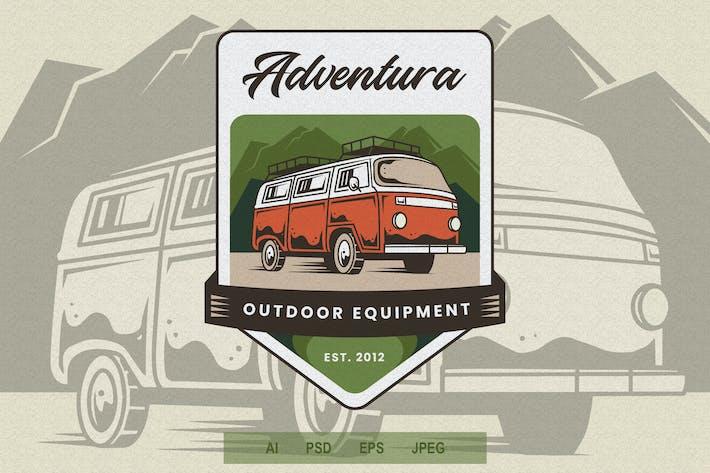 Thumbnail for Vintage Emblem - Adventure V1