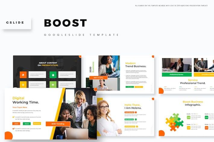 Thumbnail for Boost - Google Slides Template