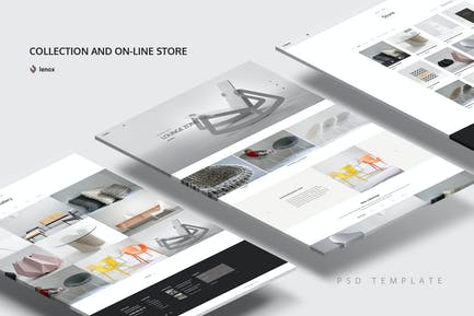 Collection PSD Template