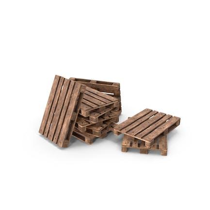 Holzpaletten Heap