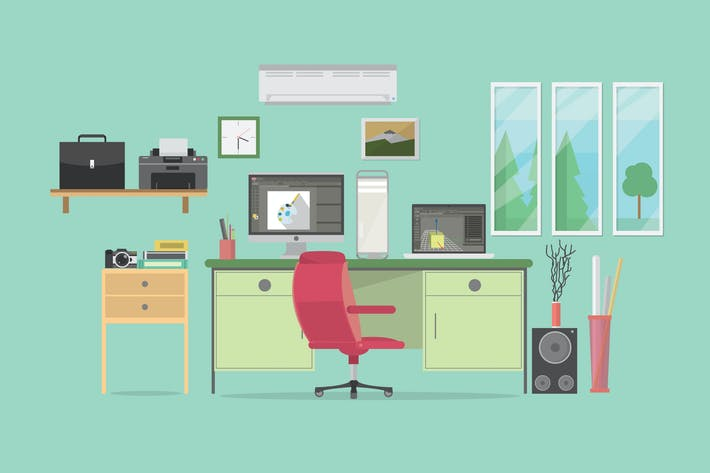 Thumbnail for Animator Workspace - Illustration Background