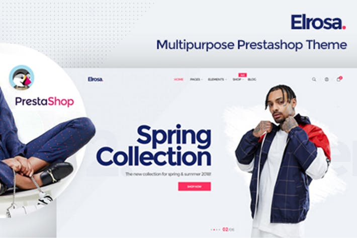 Thumbnail for Alrosa Responsive Prestashop 1.7 Theme