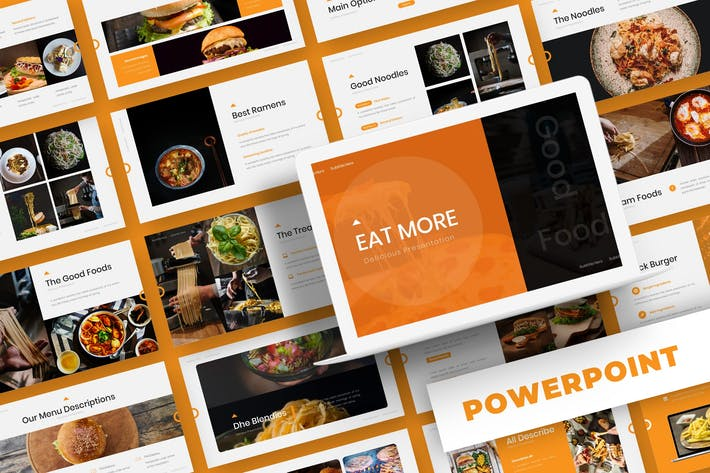 Thumbnail for Eat More - Powerpoint Template