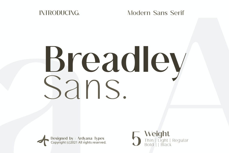 Breadley-Sans