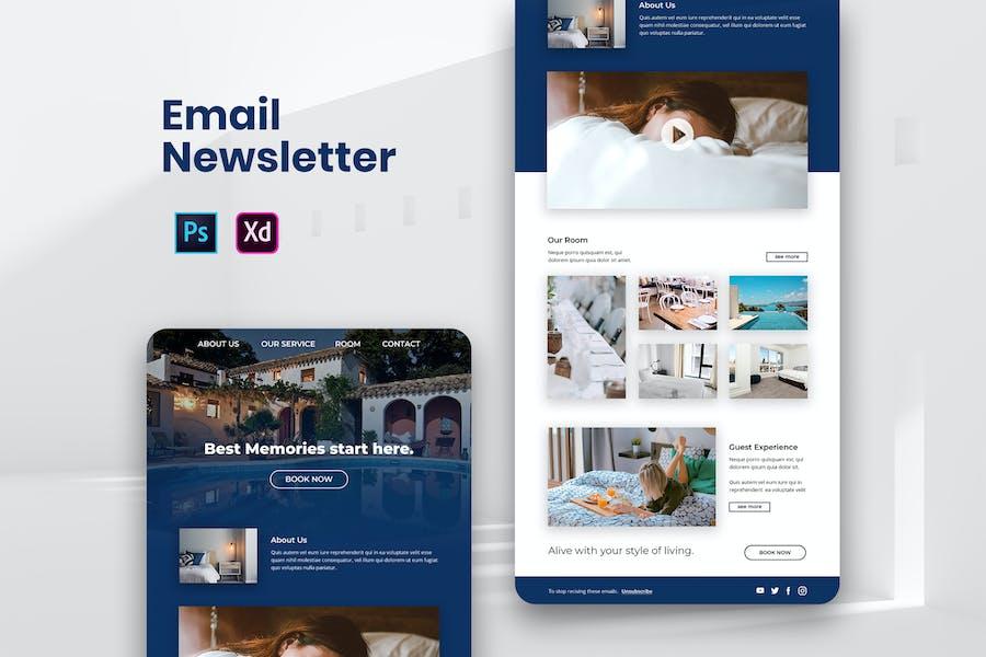 Hotel Travel Email Newsletter