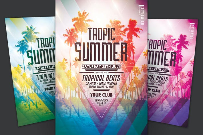 Thumbnail for Tropic Summer Flyer