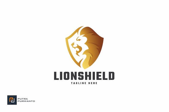 Lion Shield - Logo Template
