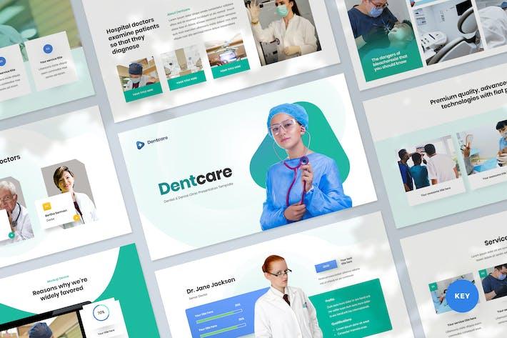 Thumbnail for Dental Clinic Keynote Presentation Template