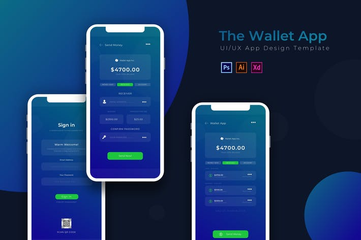 Thumbnail for Wallet | App Template