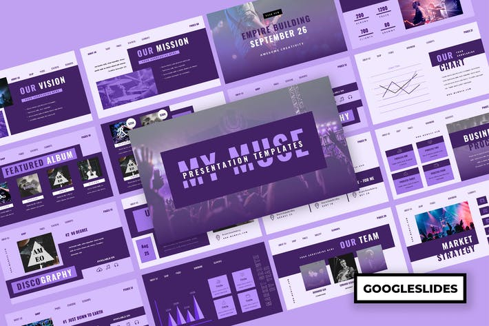 Thumbnail for Muzik - Презентация музыкальных Гуглеслидов