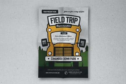 Exkursion Event Flyer