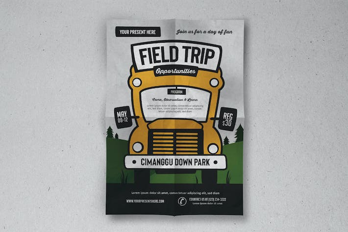 Thumbnail for Field Trip Event Flyer