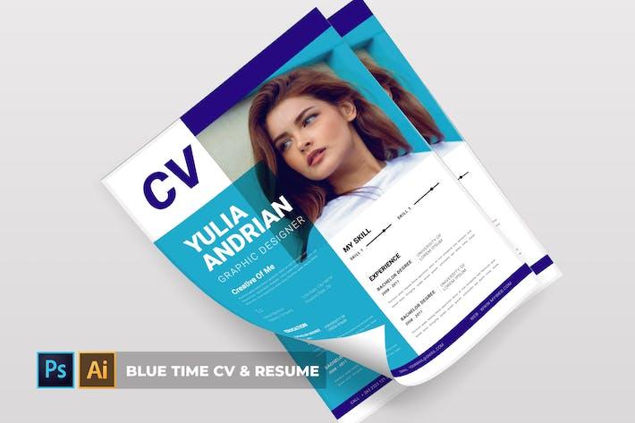 Blue Time   CV & Resume